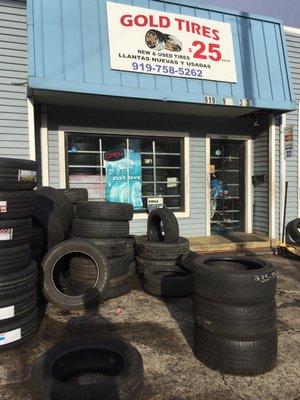 Gold Tires Tires 2300 N Roxboro St Durham Nc Phone Number Yelp