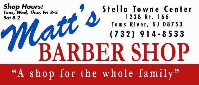 Matts Barber Shop Barbers 1238 Route 166 Toms River Nj