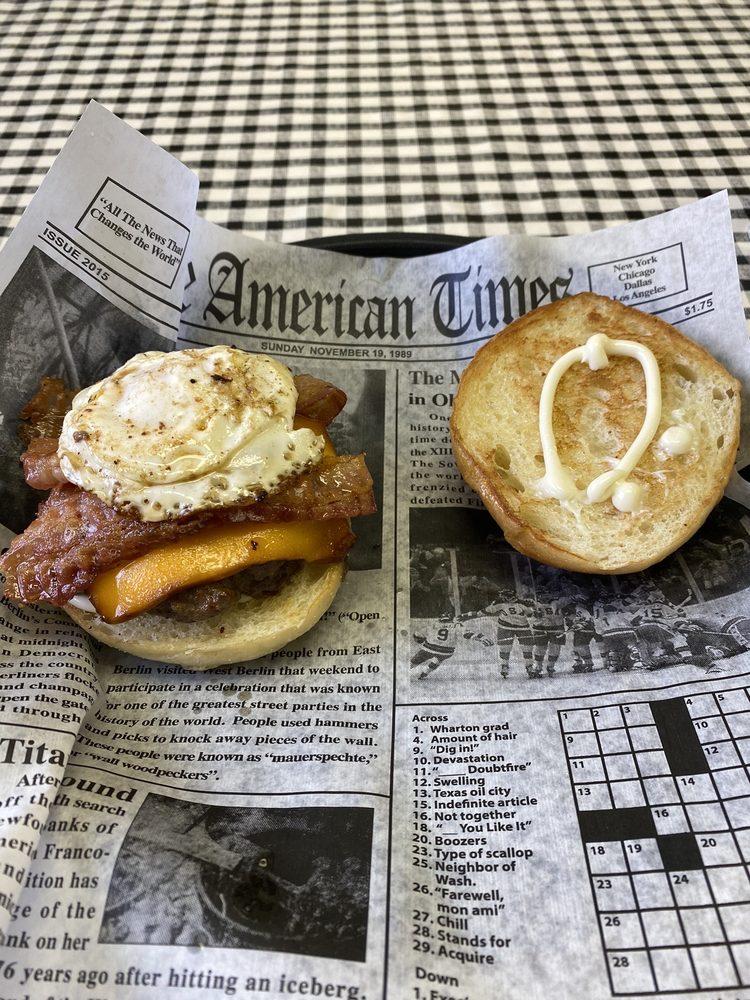 BFM Burgers Fries Milkshakes: 300 W Railroad St, Waterloo, IN