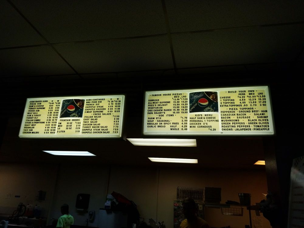 Papa Kelsey's Pizza & Subs: 160 E Main St, Rigby, ID