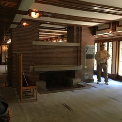 Photo Of Frederick C Robie House   Chicago, IL, United States. Fire Place
