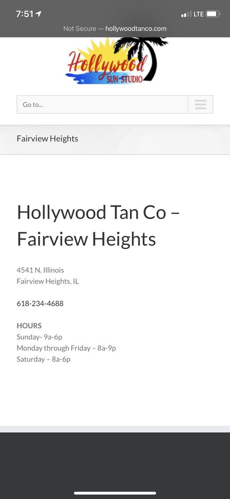 Hollywood Tan: 4541 N Illinois, Fairview Heights, IL