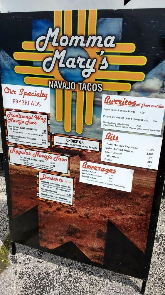 Momma Mary's Navajo Tacos: Springfield, MO