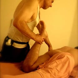 Amateur Turns For Muscly Masseur