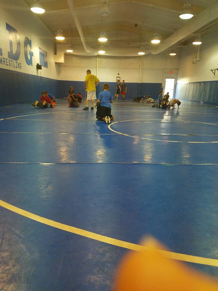 Cave man wrestling: 4701 N Himes, Tampa, FL