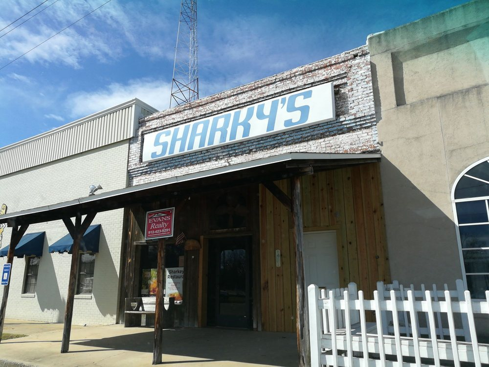 Sharkey's Restaurant: 147 W Railroad Ave, Alamo, GA