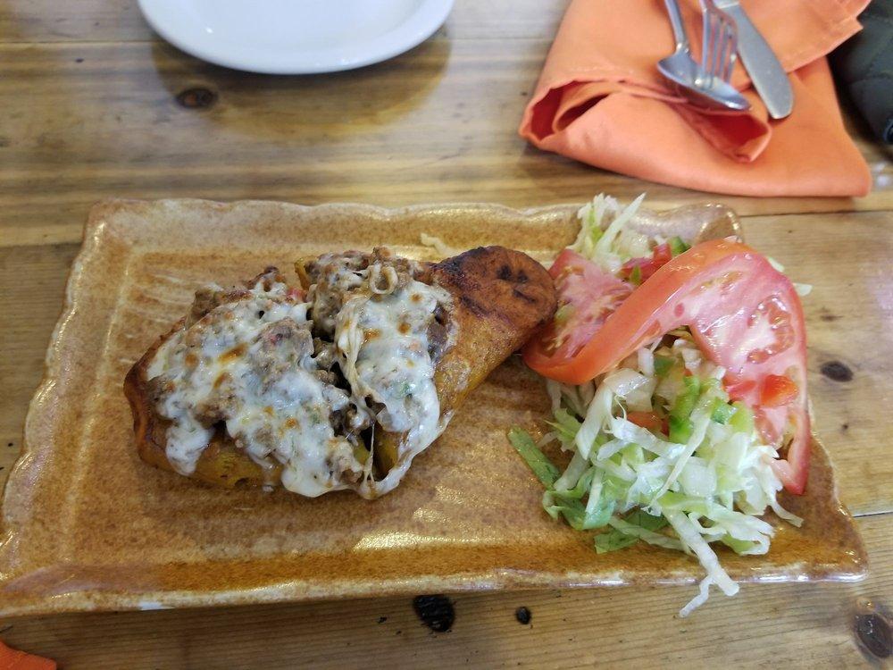 Food from Mi Casa Restaurant