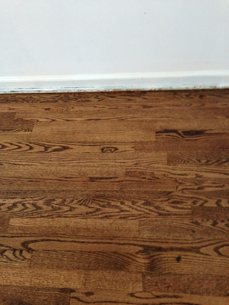 Provincial stain with 2 coats of matte swedish finish yelp for Hardwood flooring inc