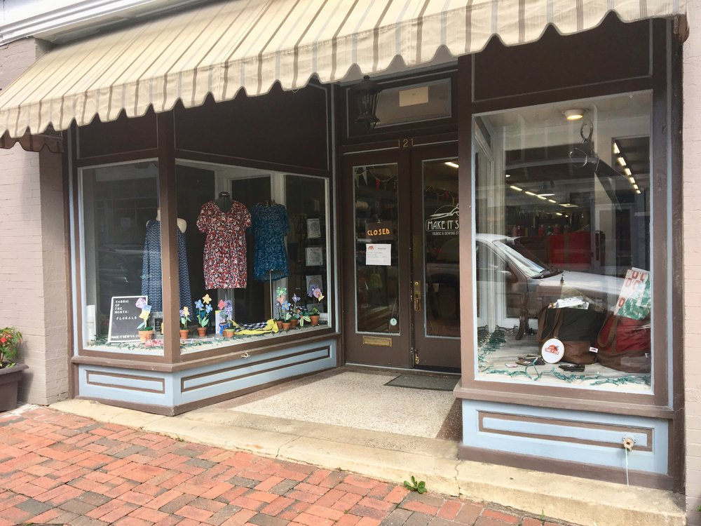 Make It Sew: 121 S Main St, Lexington, VA