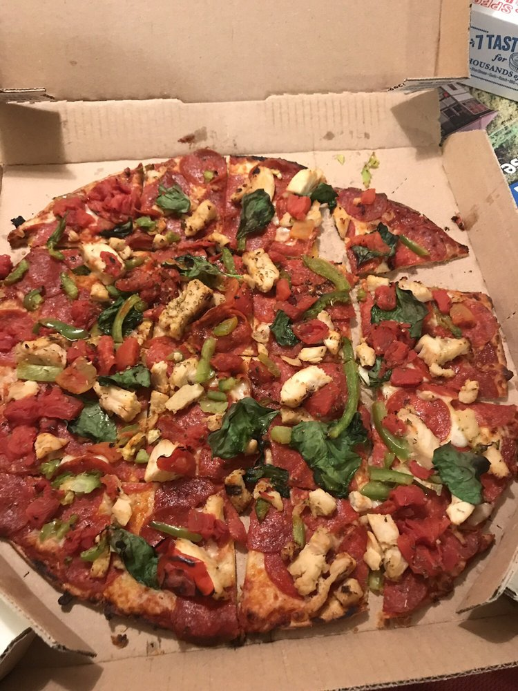 Food from Domino's Pizza