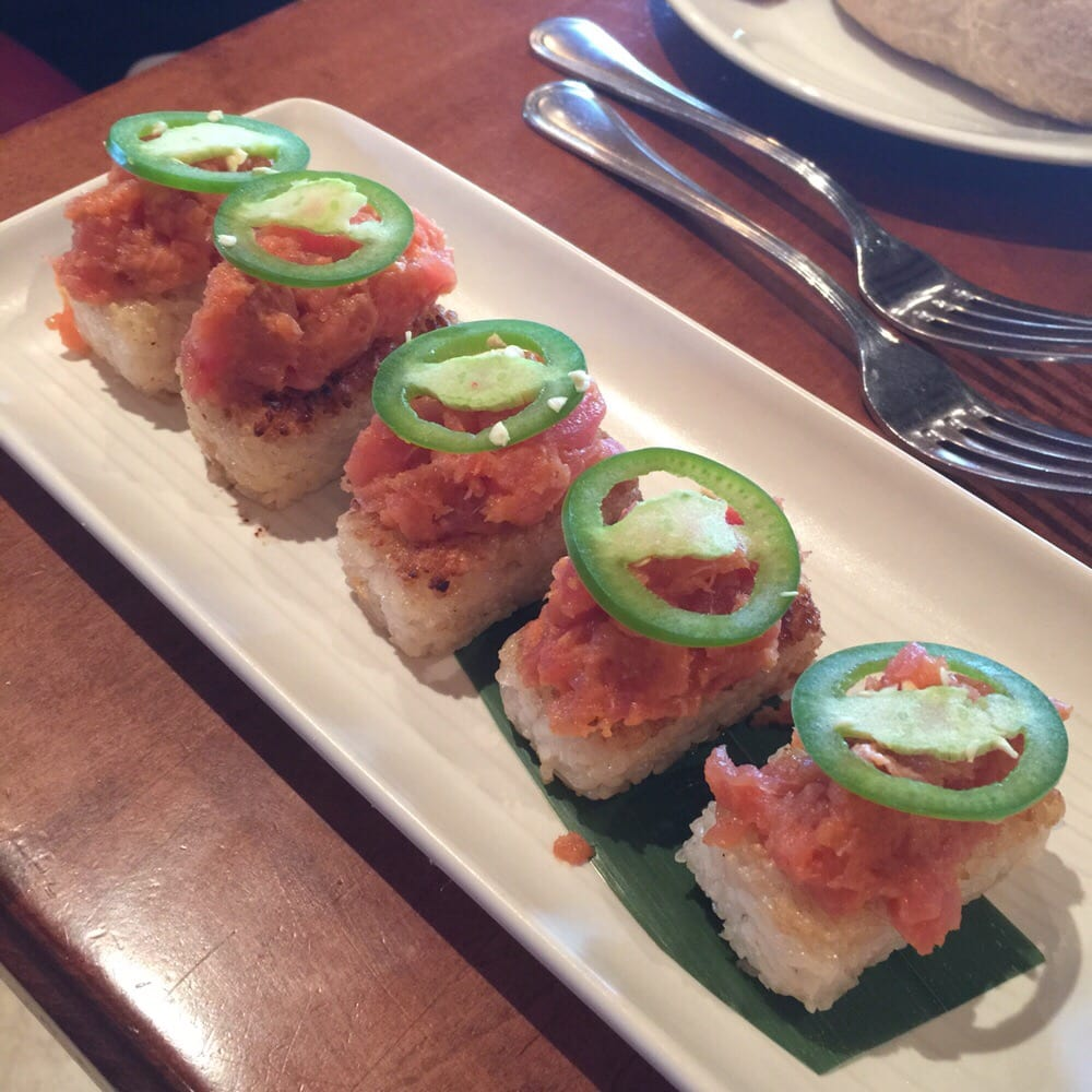 Crispy spicy tuna yelp for King s fish house huntington beach
