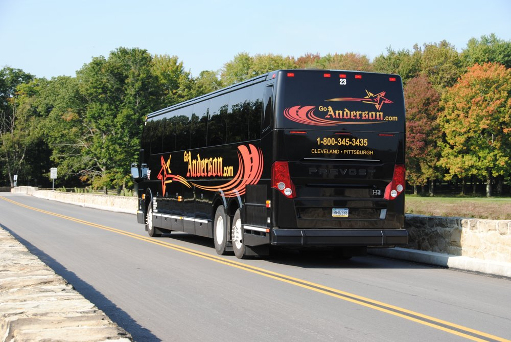 Anderson Coach & Travel: 1 Anderson Plz, Greenville, PA
