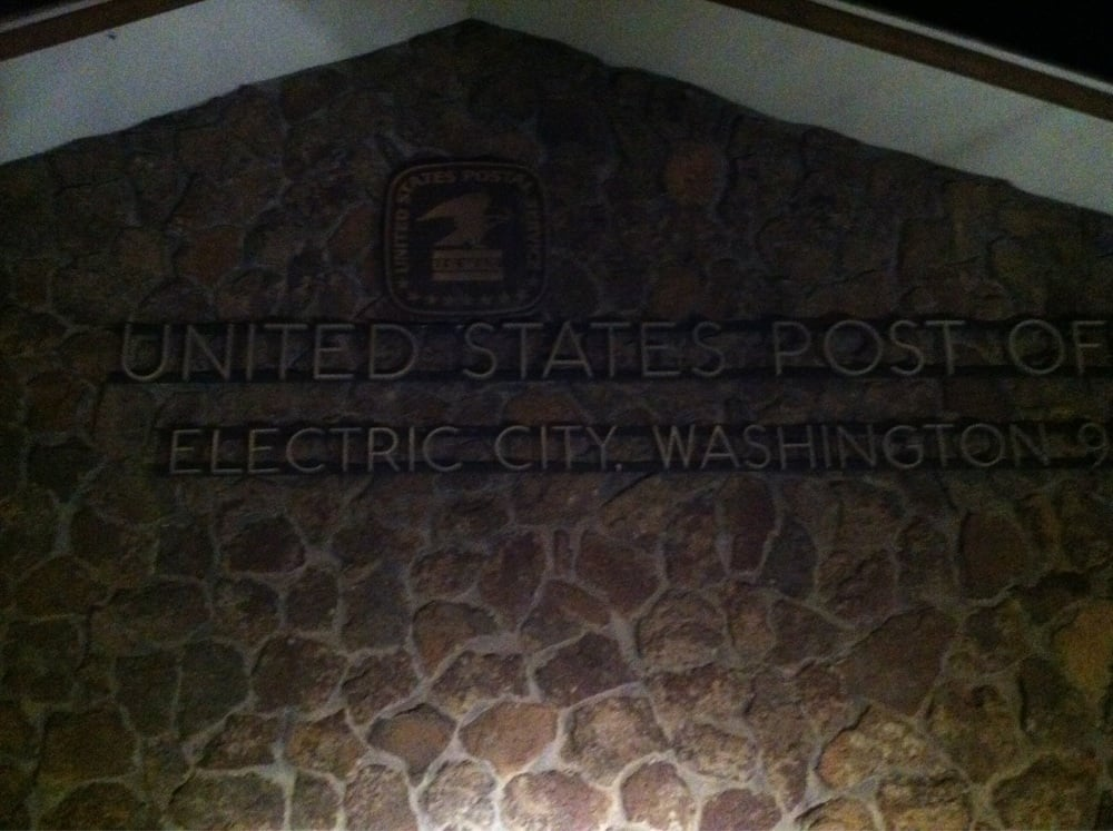 US Post Office: 5 W Coulee Blvd, Electric City, WA