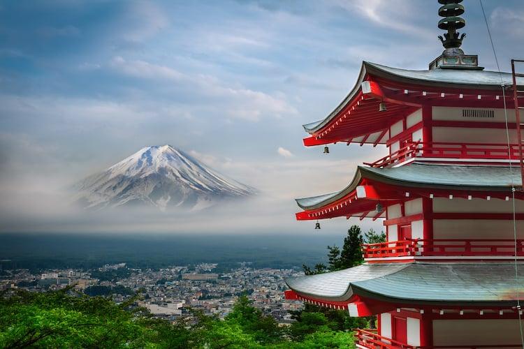 japan 6 days tour itinerary visit tokyo shizuoka magome juku