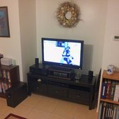 ikea tampa fl united states finished ikea hemnes entertainment center sitting in my living. Black Bedroom Furniture Sets. Home Design Ideas