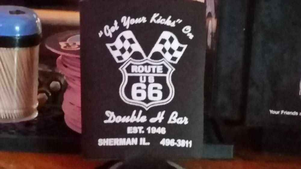 Double H Bar: 121 N 1st St, Sherman, IL