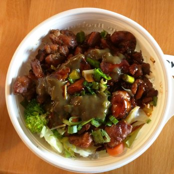 Photo Of The Flame Broiler Vista Ca United States En Bowl With