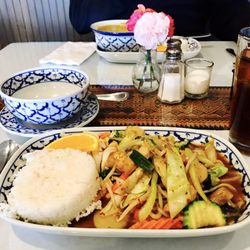 Photo Of Bangkok Tokyo Restaurant Greenville Sc United States Mixed Vegetables With