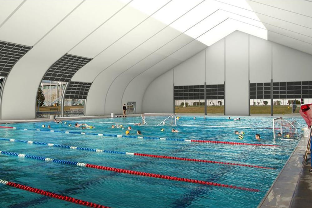 Indoor Olympic 50 Meter Pool With Multiple Lap Lanes Year Round Yelp