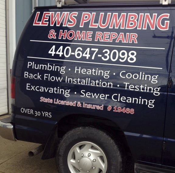 Lewis Plumbing & Home Repair: 183 Depot St, Wellington, OH