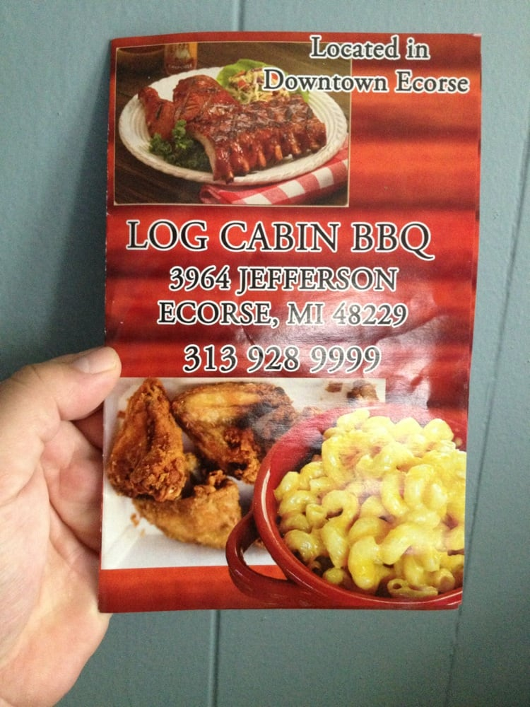 Log Cabin BBQ: 3964 Jefferson, Ecorse, MI