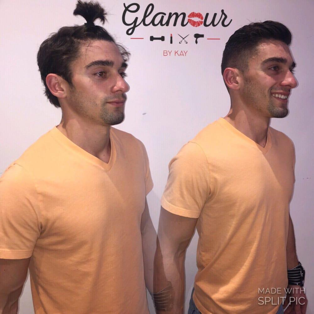 Mens Hair Cut By Kayla Kruger Yelp