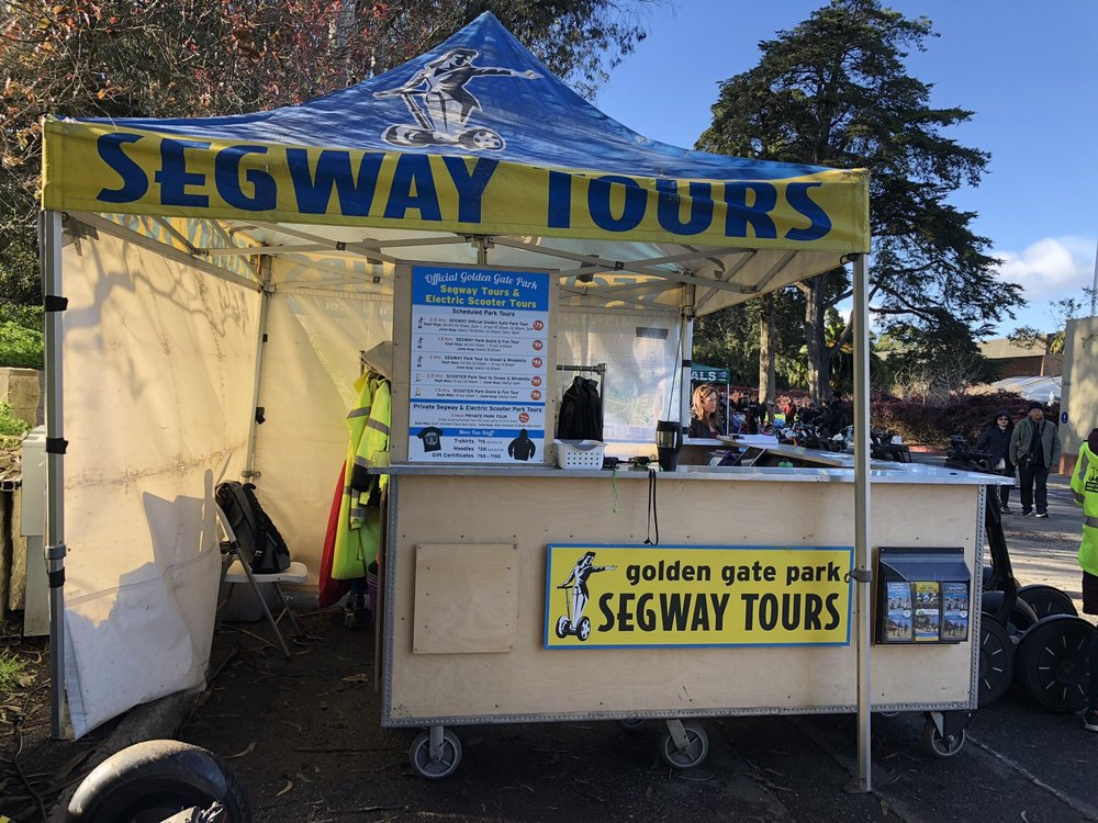 Golden Gate Park Segway Tours