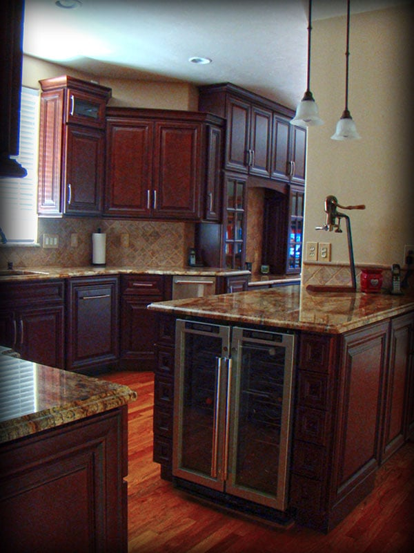 Charleston Cherry Kitchen Cabinets Made By Lily Ann