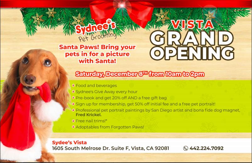Sydnee's Pet Grooming Vista