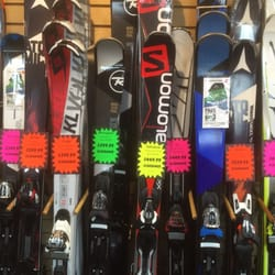 Photo Of Sundown Ski And Patio   Greenvale, NY, United States. Skis On