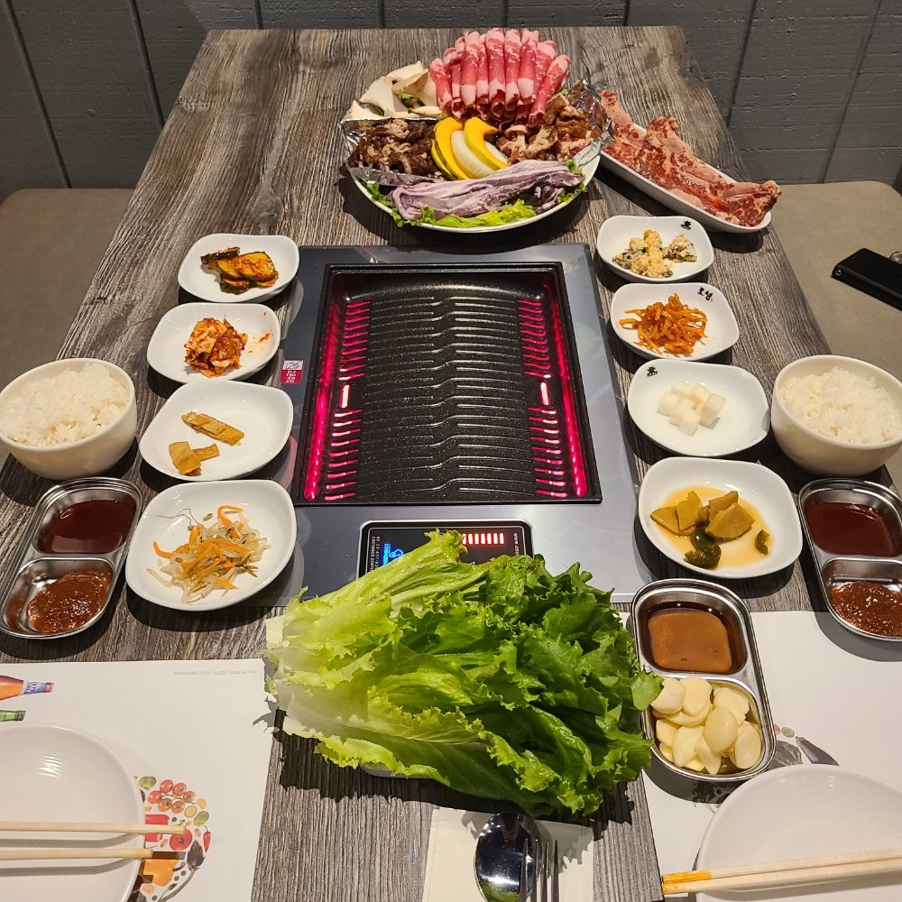 Food from K - Chicken and Grill Korean BBQ
