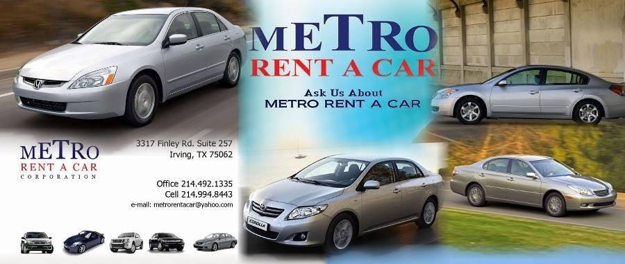 Metro Rent A Car: 3317 Finley Rd 257, Irving, TX