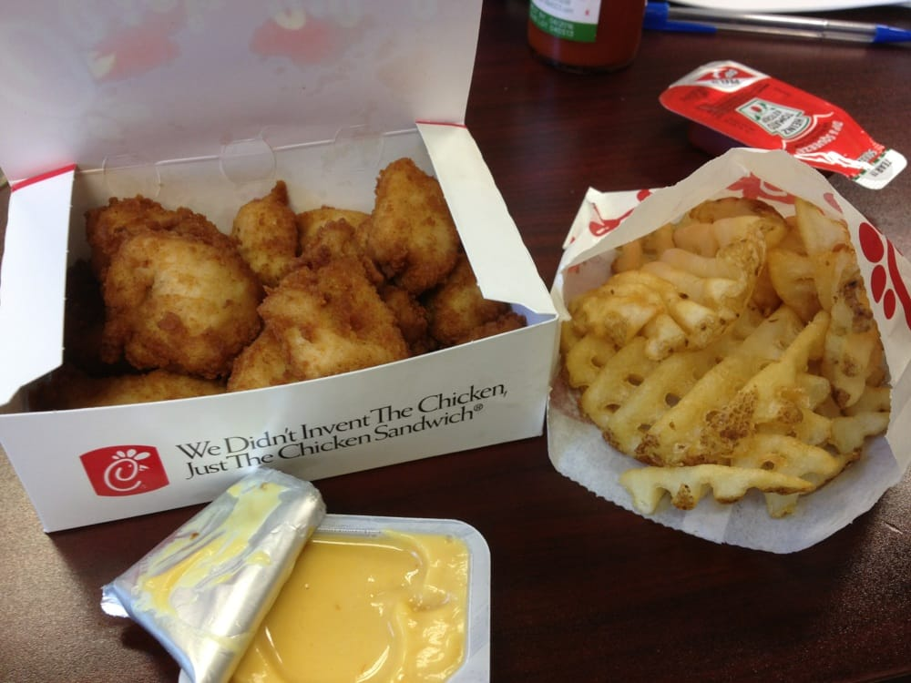 12 Piece Nuggets & Small Waffle Fries - Yelp