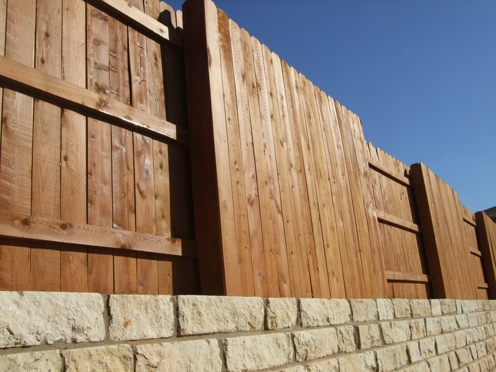Photo Of Great Dane Fence Staining Cedar Park Tx United States Wood