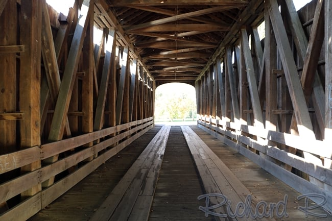 New Brownsville Covered Bridge: 50 Carl Miske Dr, Columbus, IN