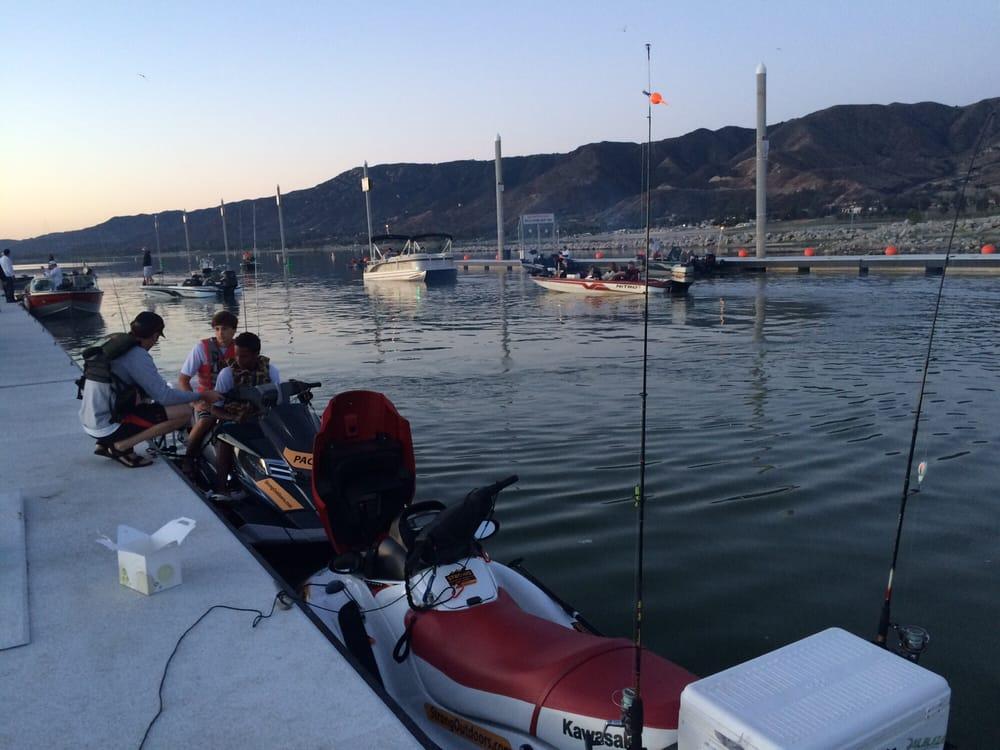 Photos for la laguna resort boat launch yelp for Lake elsinore fishing report