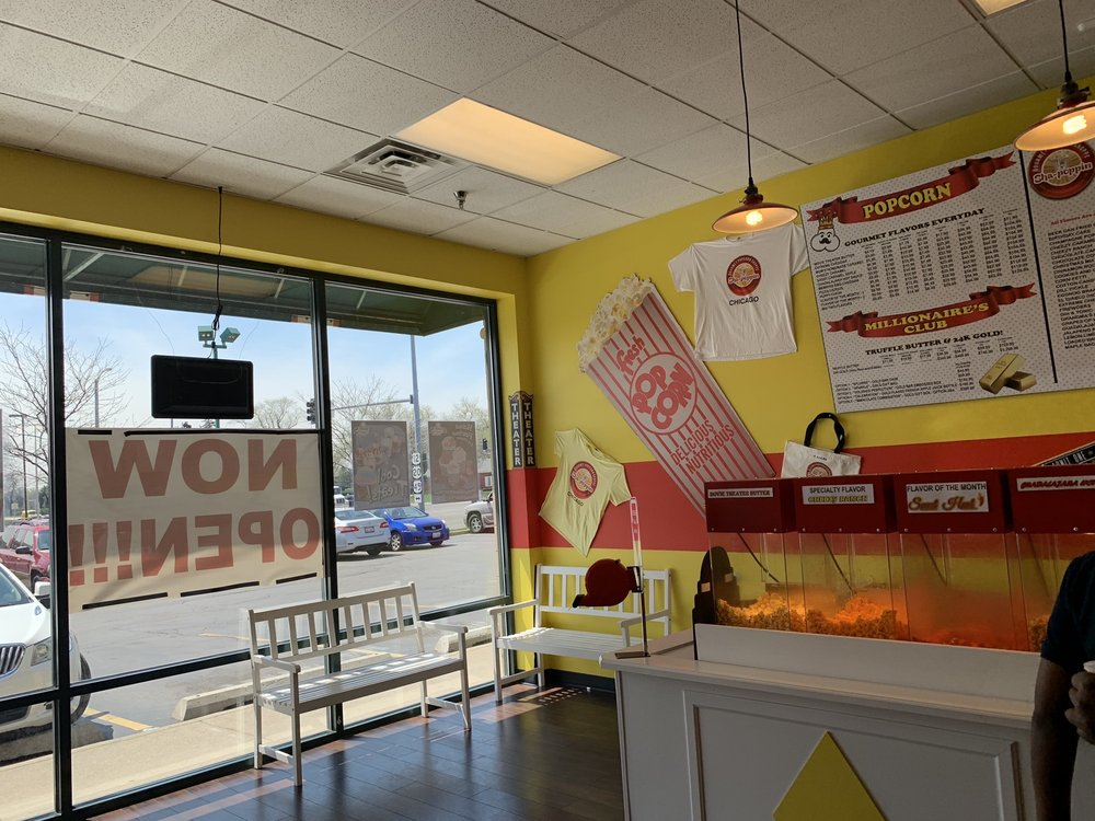 Sha-Poppin Gourmet Popcorn Shoppe: 10352 W Roosevelt Rd, Westchester, IL