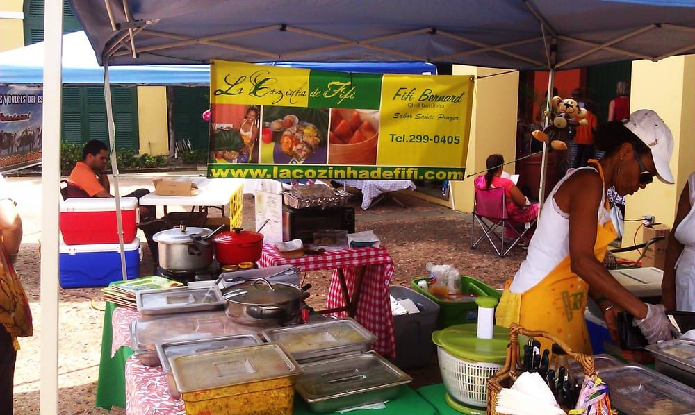Mercado Agrícola Natural: Calle Norzagaray 150, San Juan, PR