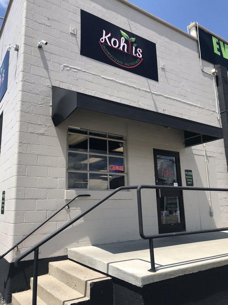 Kohli's Downtown Nutrition: 334 E Dixie Ave, Elizabethtown, KY