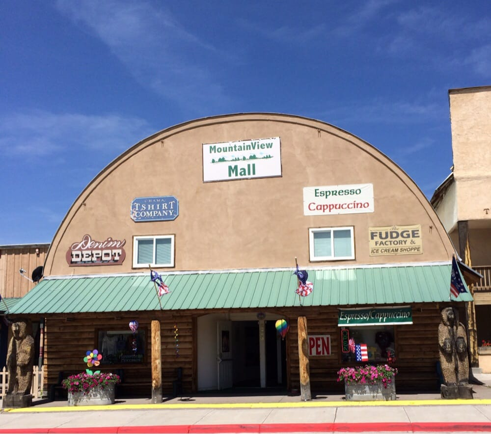Mountainview Mall: Mountain View Mall, Chama, NM