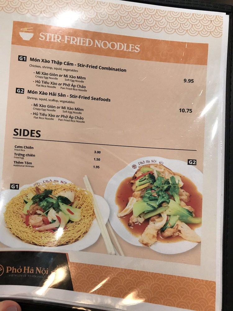 Food from Pho Hanoi Vietnamese Restaurant