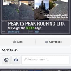 Beautiful Photo Of Peak To Peak Roofing   Maple Ridge, BC, Canada