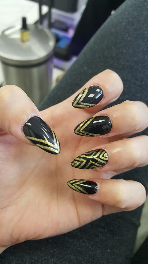 Got a fill with design yelp for Euphoria nail salon