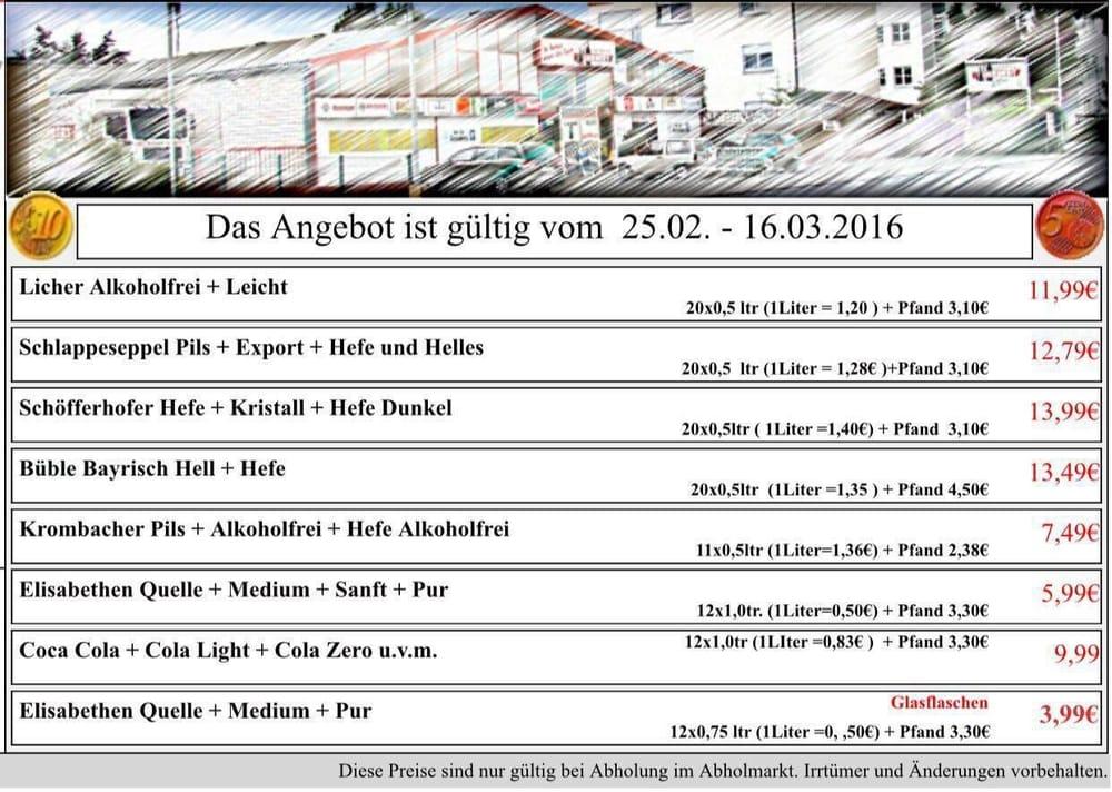 Getränke Herbert - Beverage Store - Emil-von-Behring-Str. 14 ...