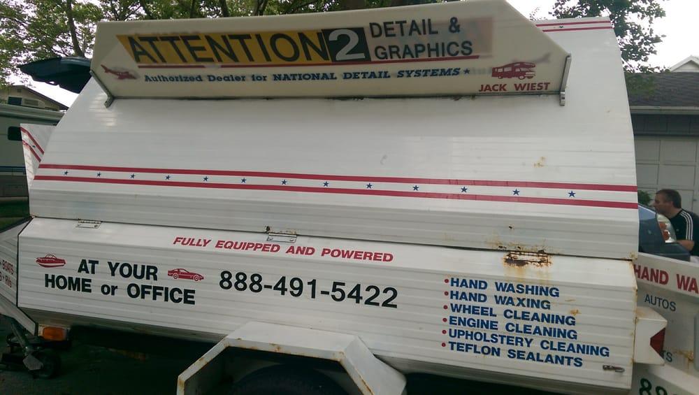 Attention 2 Detail & Graphics: 404 Adams St, Newaygo, MI