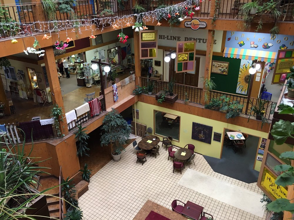 The Atrium Shopping Mall: 220 3rd Ave, Havre, MT