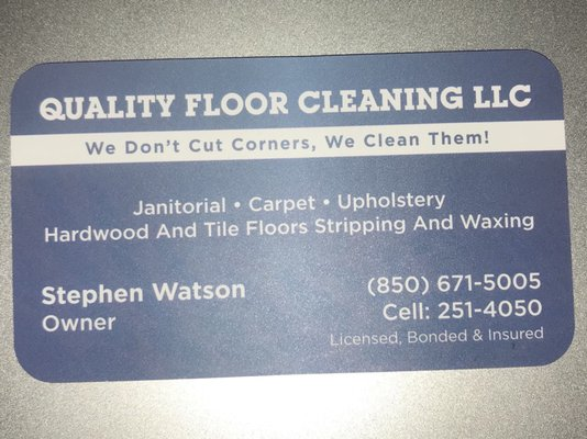 Quality Floor Cleaning - Carpet Cleaning - 1353 E Lafayette ...