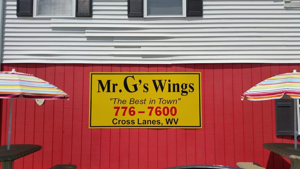 Mr G's Wings: 5308 Big Tyler Rd, Cross Lanes, WV
