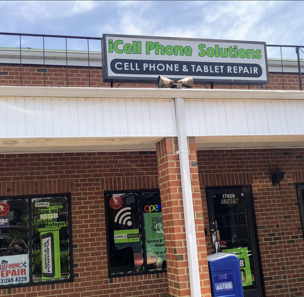 iCellPhones Solutions: 17459 Jefferson Davis Hwy, Dumfries, VA