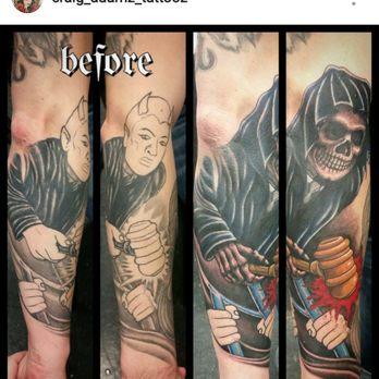 Bleeding beauty tattoo 112 photos 28 reviews tattoo for Tattoo shops in anaheim ca